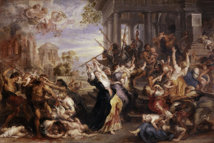 Le Massacre des Innocents de Rubens (vers 1636-1638)
