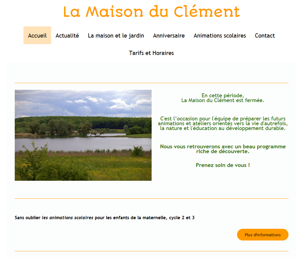 Site de maisonduclement