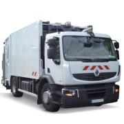 camion benne a ordures menageres bom 1