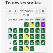Premier week-end de novembre, on ne fait pas le mort, on sort !